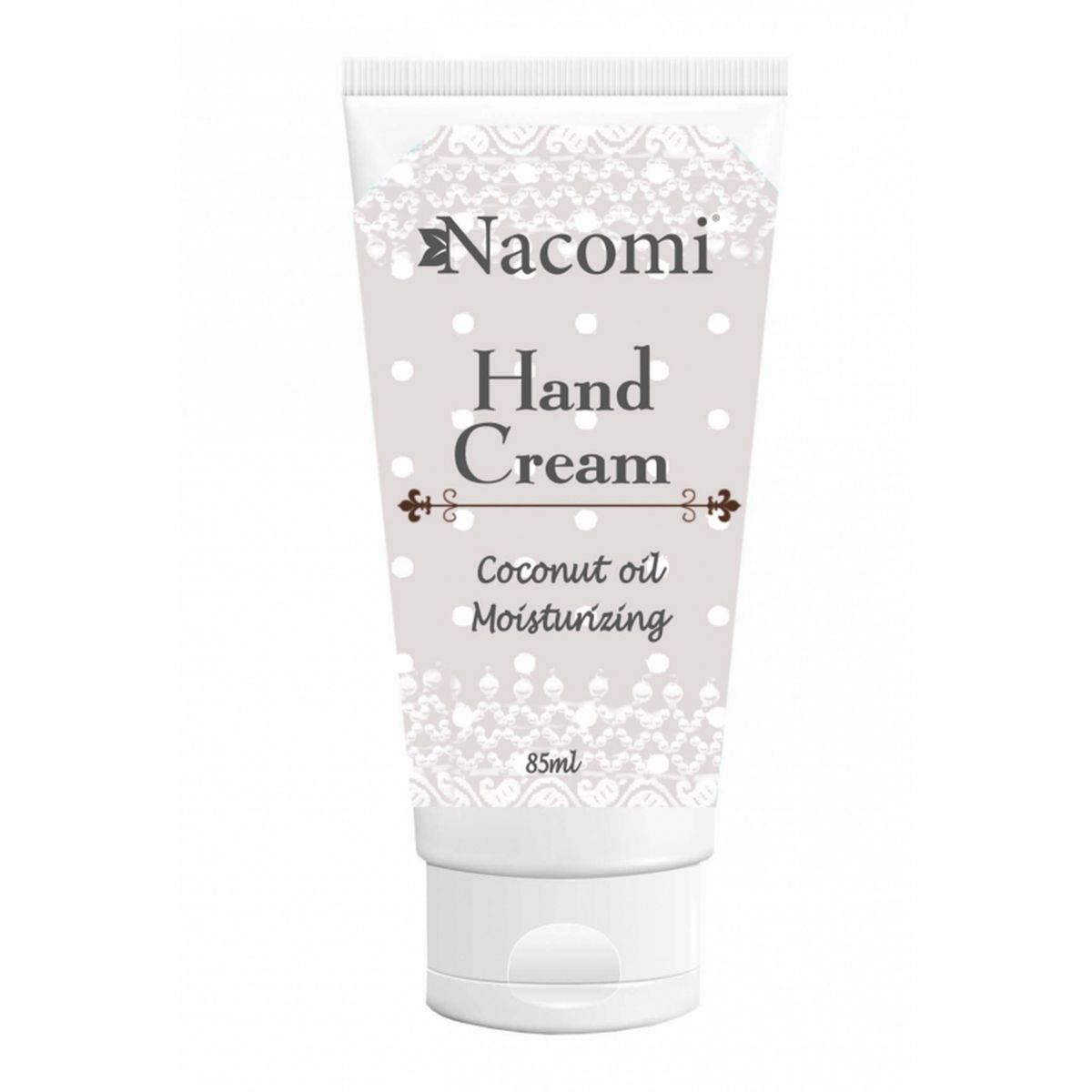 Nawilżający krem do rąk z olejem kokosowym - 85ml - Nacomi