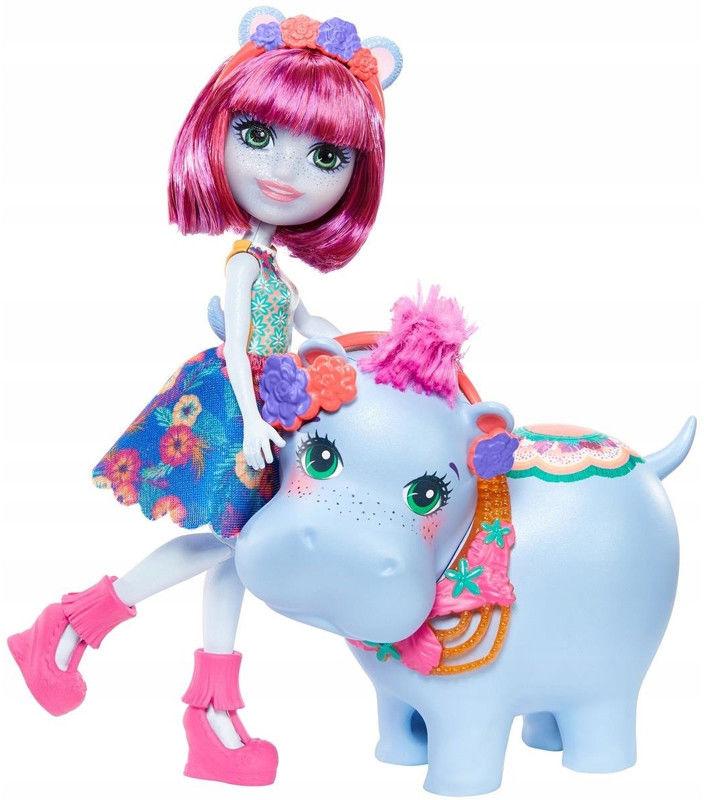 Enchantimals - Laleczka i zwierzak Hedda Hippo GFN56