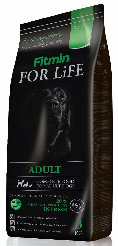 FITMIN - For life adult 3kg