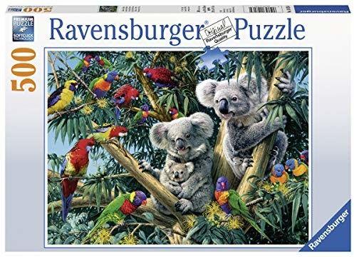 Puzzle Ravensburger 500 - Koala na drzewie, Koalas in a Tree