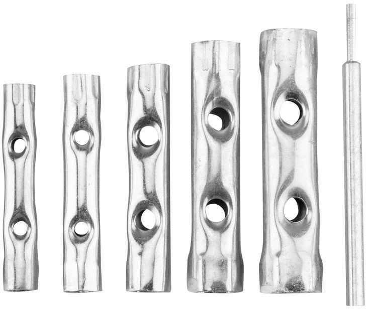 Klucze rurowe 8-17 mm zestaw 6 elementów 35D191