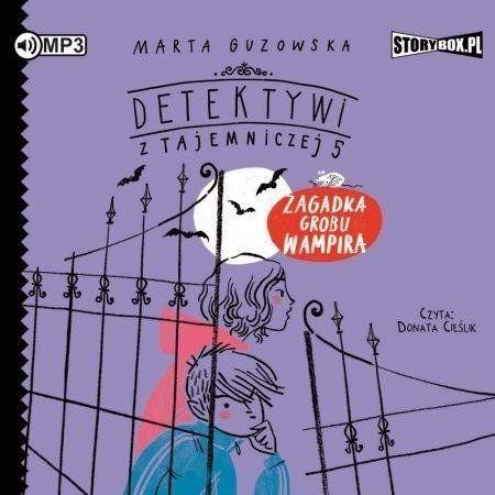 Detektywi z Tajemniczej 5 T. 2 audiobook - Marta Guzowska