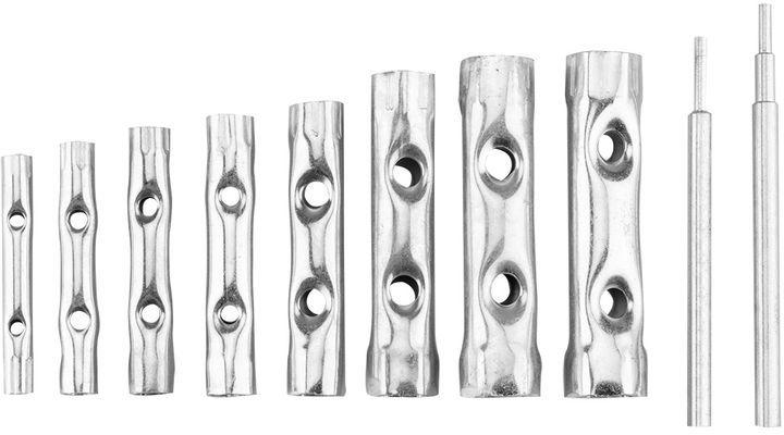 Klucze rurowe 6-22 mm zestaw 10 elementów 35D193