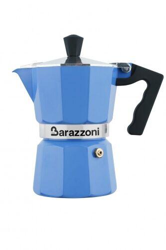 Kawiarka LA CAFFETIERA Barazzoni niebieska