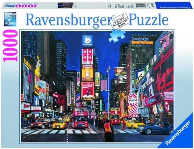 Puzzle 1000 Times Square, Nowy Jork - Ravensburger