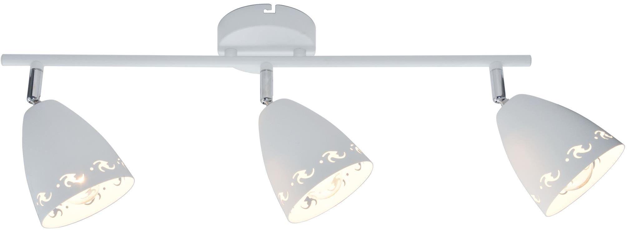Candellux COTY 93-67142 listwa oświetleniowa biały mat metalowy klosz 3X40W E14 70cm