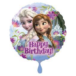 amscan 2900901 Kraina lodu Balon foliowy Frozen Happy Birthday, Multi