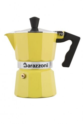 Kawiarka LA CAFFETIERA Barazzoni żółta