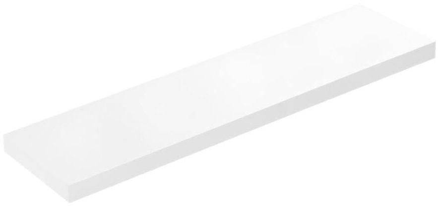 Półka ścienna KOMOROWA Biała 110 x 23,5 cm SPACEO