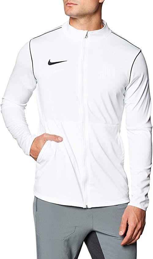 Nike M NK Dry PARK20 TRK JKT K kurtka sportowa, biała/czarna/czarna, XL