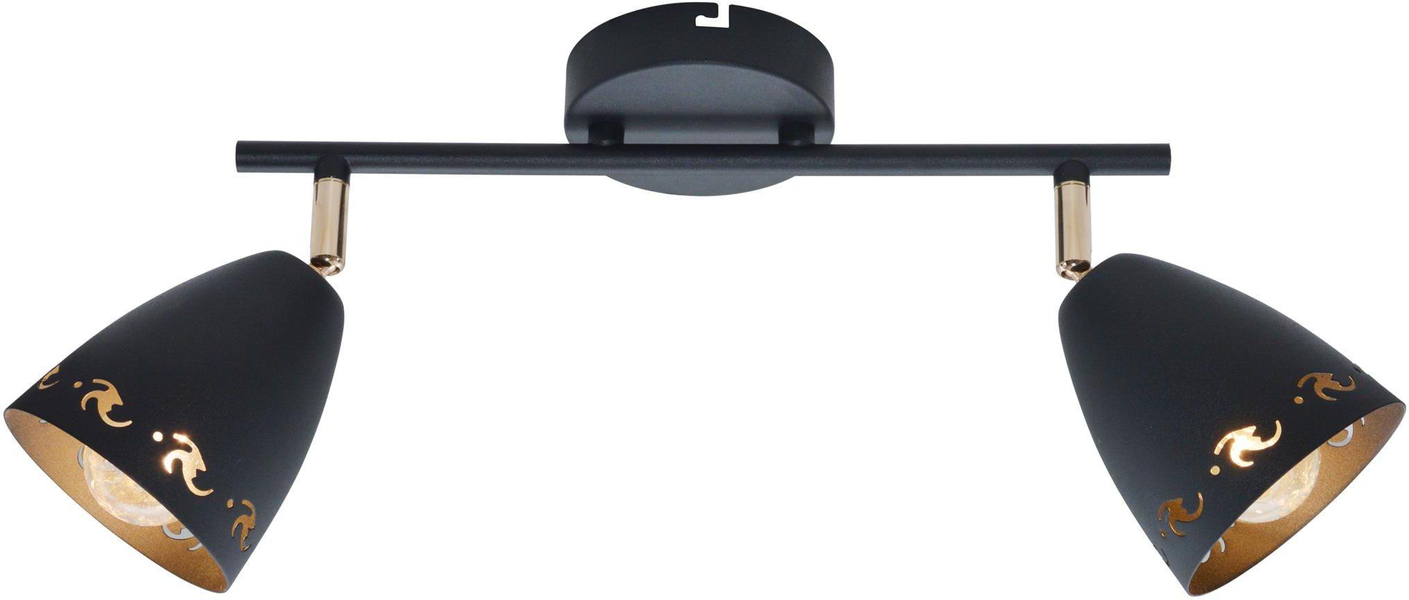Candellux COTY 92-67166 oprawa oświetleniowa czarny metalowy klosz 2X40W E14 50cm