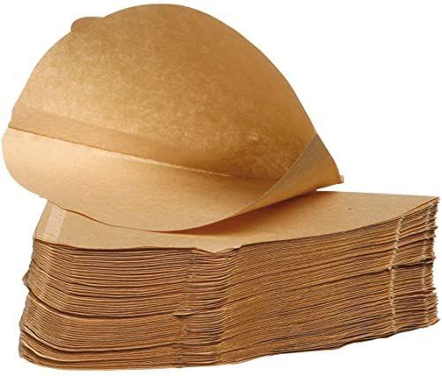 Filtropa niewybielane papierowe filtry do kawy rozmiar 4 (cztery), 100% naturalne, opakowanie 100 szt