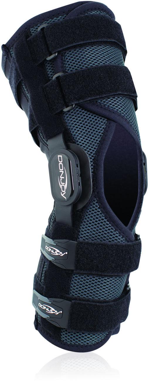 DonJoy Playmaker II - długa orteza stawo kolanowego - więzadeł - wielostopniowa regulacja (PM2)