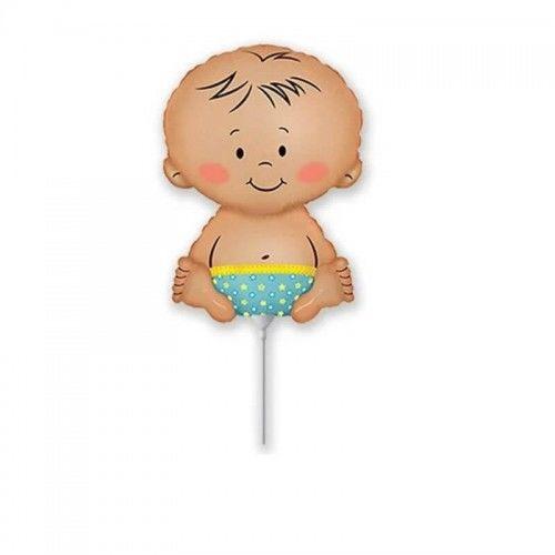 Balon foliowy Bobas chłopiec