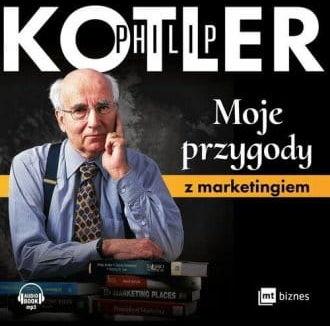 Moje przygody z marketingiem Philip Kotler audiobook cd Mp3