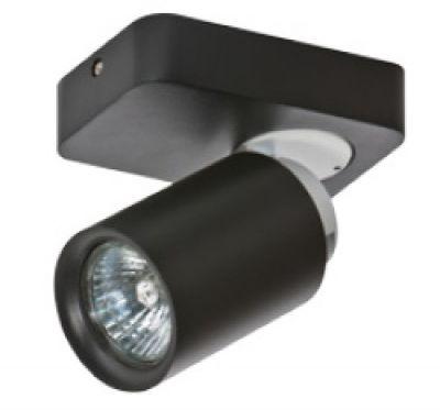 Reflektor Tomi 1 AZ0681 AZzardo czarna oprawa w nowoczesnym stylu