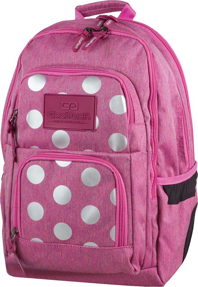Plecak Młodzieżowy Coolpack UNIT PINK /róż