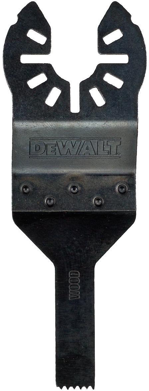 brzeszczot do narzędzi wielofunkcyjnych, 43x10mm, do precyzyjnego cięcia drewna i PCV, DeWALT [DT20706-QZ]