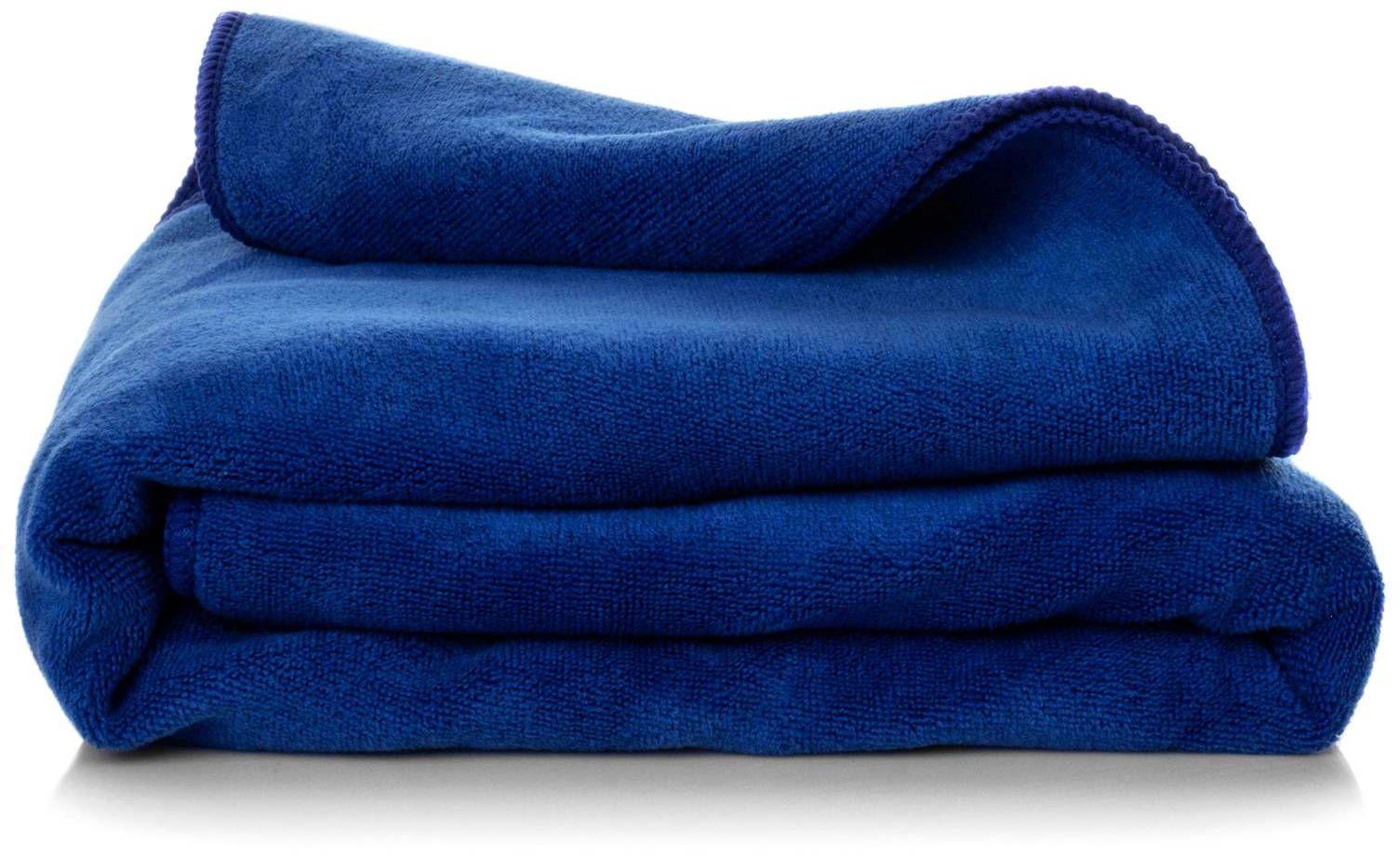 Ręcznik Kąpielowy Eurofirany Amy 11 380 g/m2 Granatowy 50x90