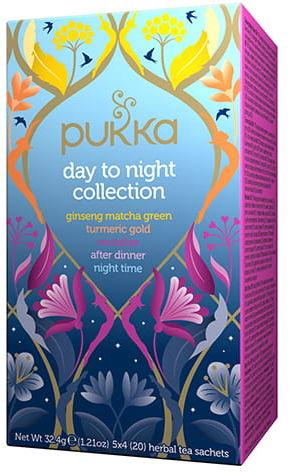 Pukka Day to Night Collection BIO 20 saszetek