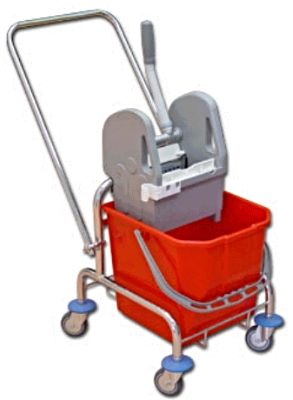 EURO wózek do sprzątania 15 l lub 25 l, uchwyt