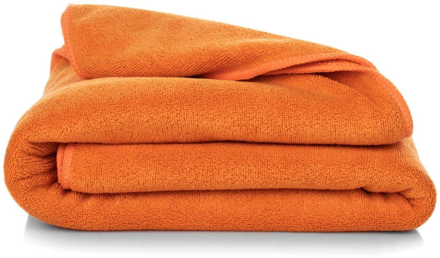 Ręcznik Kąpielowy Eurofirany Amy 13 380 g/m2 Pomarańczowy 70x140