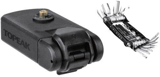 TOPEAK zestaw narzędzi w pojemniku NINJA MASTER+TOLBOX PT20 black T-TNJA-T20,4710069703335