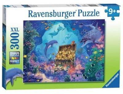 Puzzle Ravensburger 300 - Podwodny skarb, Deep Sea Treasure