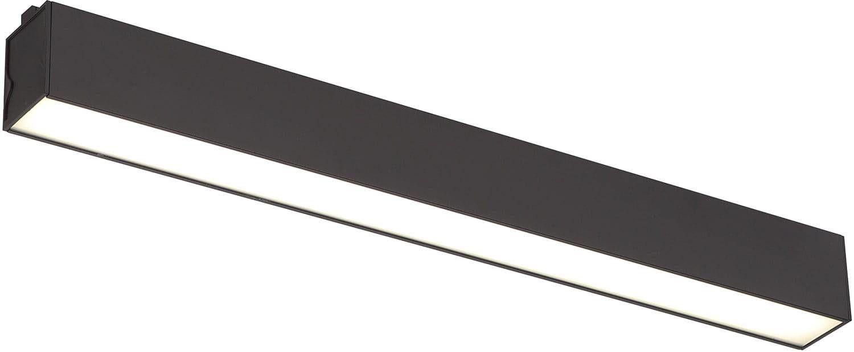Lampa natynkowa Linear w kolorze czarnym C0190 MaxLight