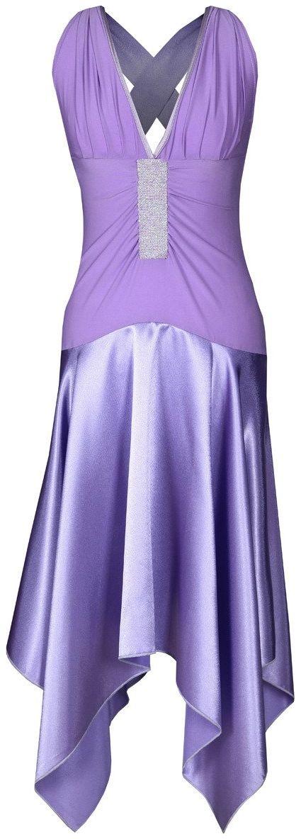 Sukienka FSU127 FIOLETOWY