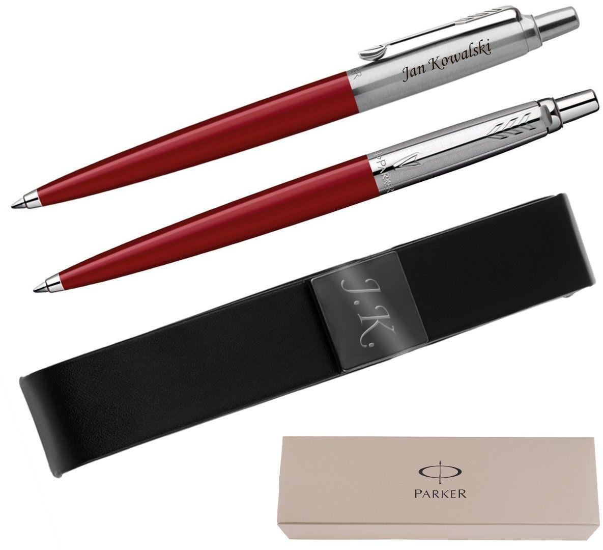 Długopis Jotter Special Czerwony z Etui Prezent z Twoim Grawerem