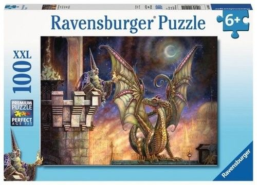 Puzzle Ravensburger 100 - Dar ognia, Gift of Fire