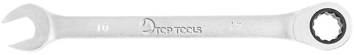 Klucz płasko-oczkowy z grzechotką 10 mm 35D731