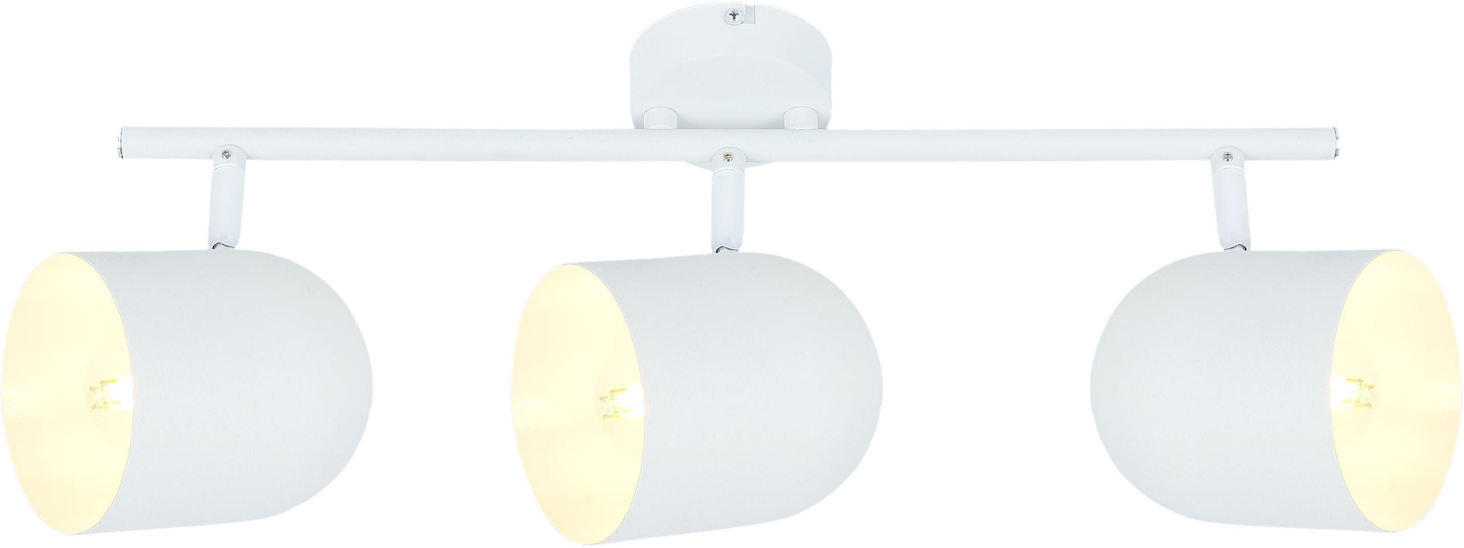 Candellux AZURO 93-63267 listwa oświetleniowa biała metalowy klosz 3X40W E27 55cm
