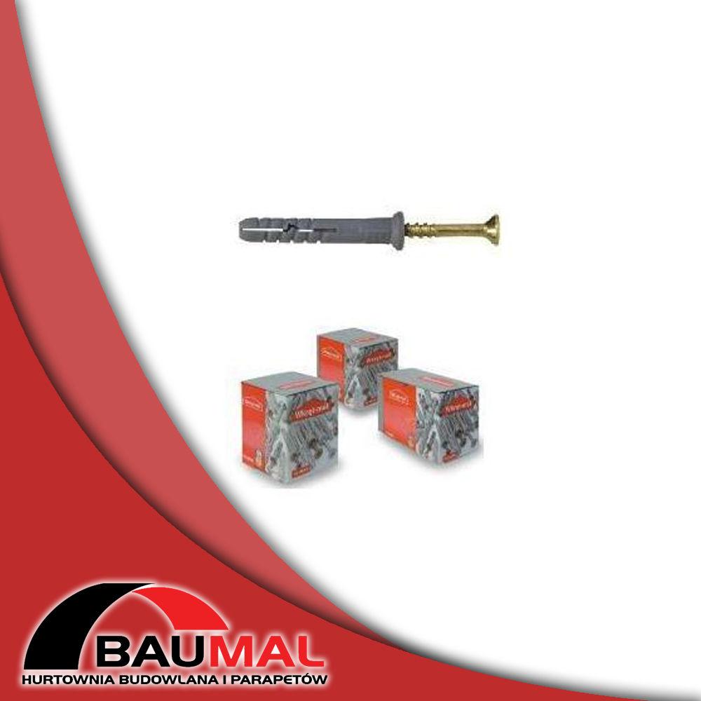 Kołki rozporowe do szybkiego montażu KSM 8x 60 100 szt