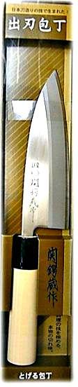 Japoński nóż Deba do filetowania ryb i drobiu 15 cm - Satake Houcho
