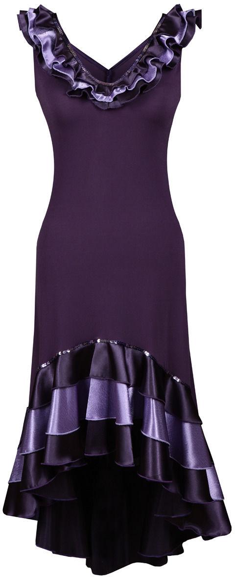 Sukienka FSU102 ŚLIWKOWY