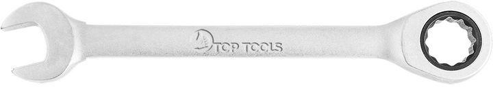Klucz płasko-oczkowy z grzechotką 19 mm 35D736