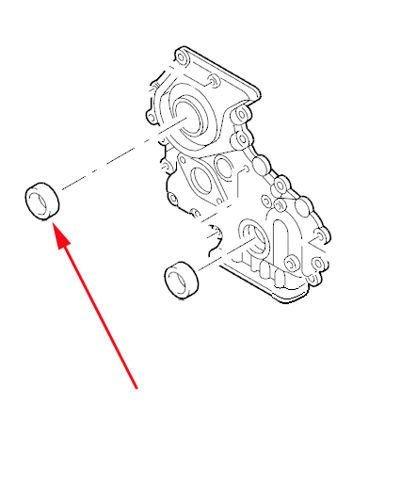 uszczelniacz wałka rozrządu Ranger 2.5 diesel - 3596217