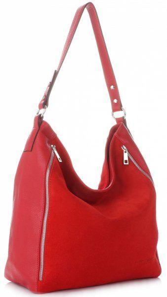 Torebki Skórzane ShopperBag VITTORIA GOTTI Czerwona (kolory)