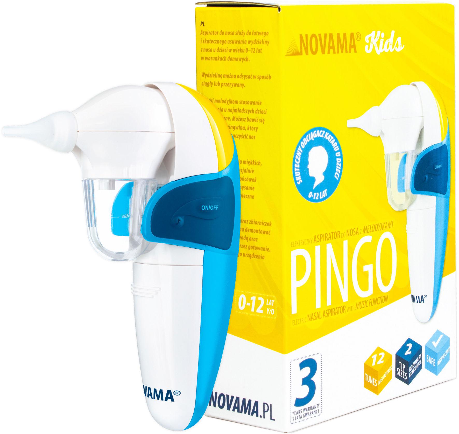 NOVAMA Pingo Aspirator do nosa (odciągacz kataru)