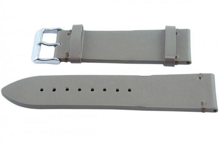 Pasek BISSET BS128 24mm beżowy
