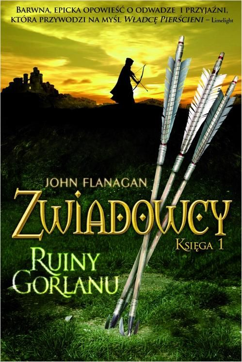 Zwiadowcy Księga 1 Ruiny Gorlanu - John Flanagan - ebook