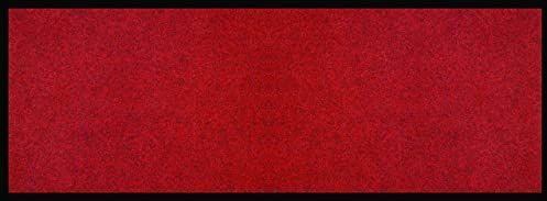 ID matowy Prima, włókna syntetyczne, czerwony, 60 x 160 x 0,5 cm