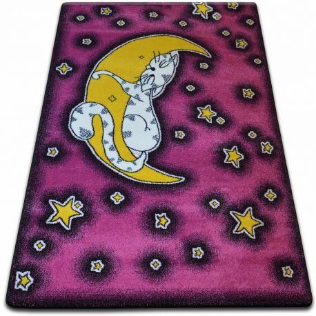 Dywan KIDS Cat różowy C414 240x330 cm
