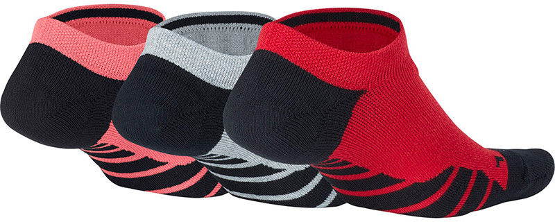skarpety sportowe NIKE WOMENS DRY CUSHION NO SHOW TRAINING SOCKS (3 pary) / SX5571-938