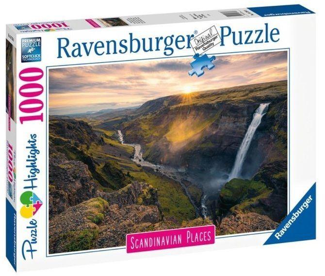 Puzzle 1000 Skandynawskie krajobrazy - Ravensburger