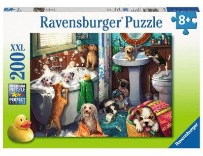 Puzzle Ravensburger 200 - Czas kąpieli, Tub Time