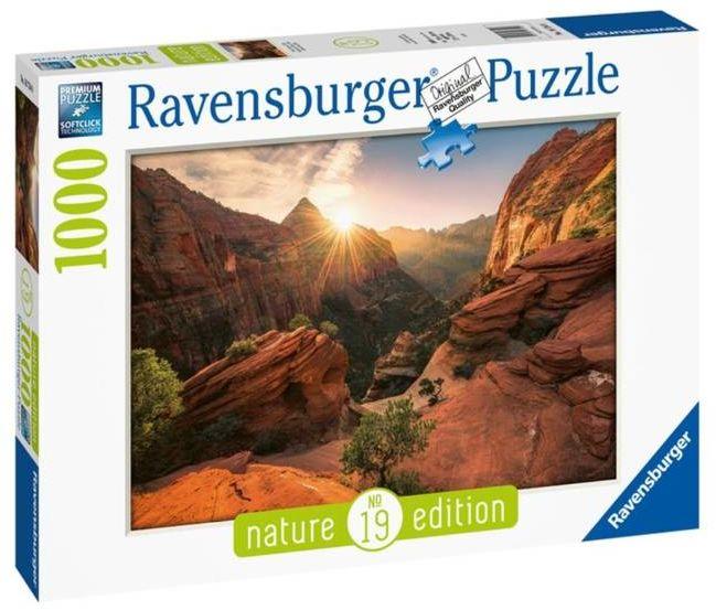 Puzzle 1000 Natura 2 - Ravensburger