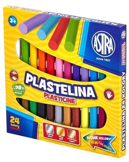 Plastelina 24 kolory Astra 30651